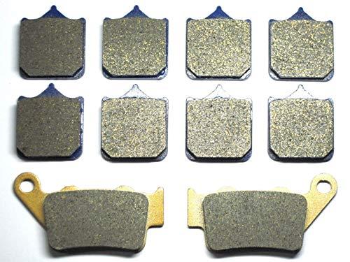 FidgetGear - Pastiglie Freno Anteriori e Posteriori per BMW S1000 S 1000 RR 2010 S1000RR 1000RR 10 Top