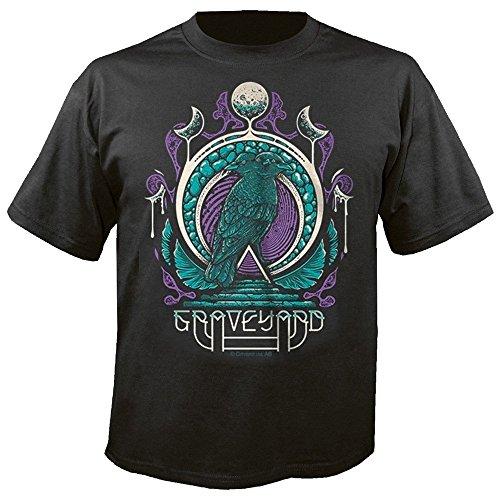 Graveyard Two Headed Bird T-Shirt S