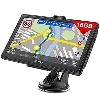 Jimwey-Navigationsgeraet-fuer-Auto-Navigation-LKW-Navi-7-Zoll-16GB-Lebenslang-Kostenloses-Kartenupdate-mit-Blitzerwarnung-POI-Sprachfuehrung-Fahrspurassistent-2020-Europa-UK-52-Karten