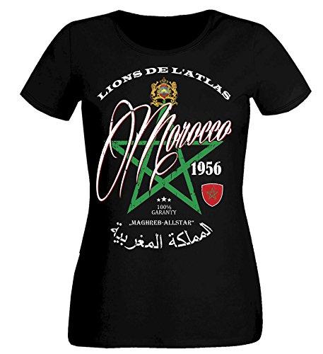 aprom dames T-shirt Marokko SC MAR 8 - WM Morocco