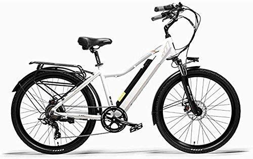 Un viaje de conveniencia saludable al aire libre de viaje de bicicletas de montaña Deportes, 26 pulgadas bicicleta eléctrica 300W 36V de la batería de litio extraíble ciclomotor aleación de aluminio d