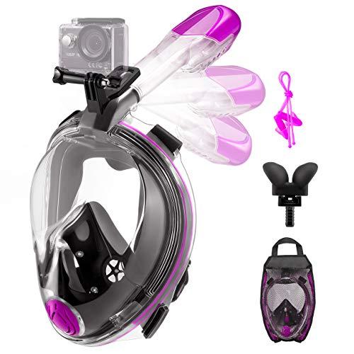 OMORC Full Face Snorkel Mask