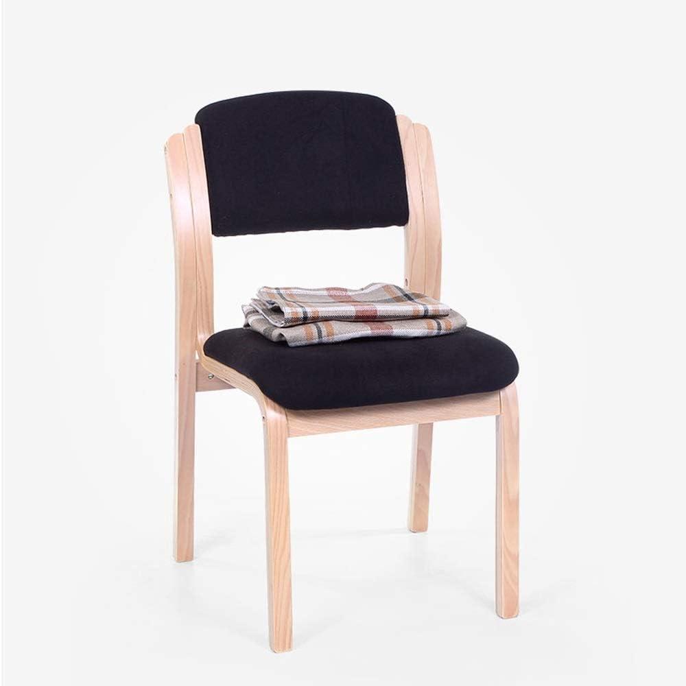Tissu à la maison avec la chaise dinante de dossier, chaise de bureau d'hôtel de chaise dinante de café, chaise en bois de bureau minimaliste moderne européen ++ (Couleur : G) A