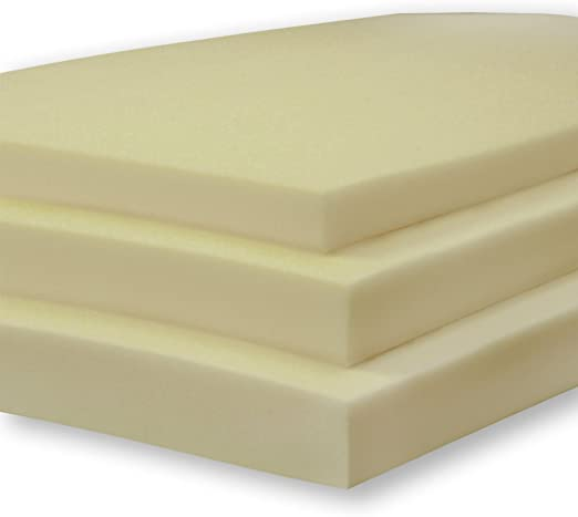 Amazon.com: 3 Inch Extra Firm Conventional Foam Mattress Topper