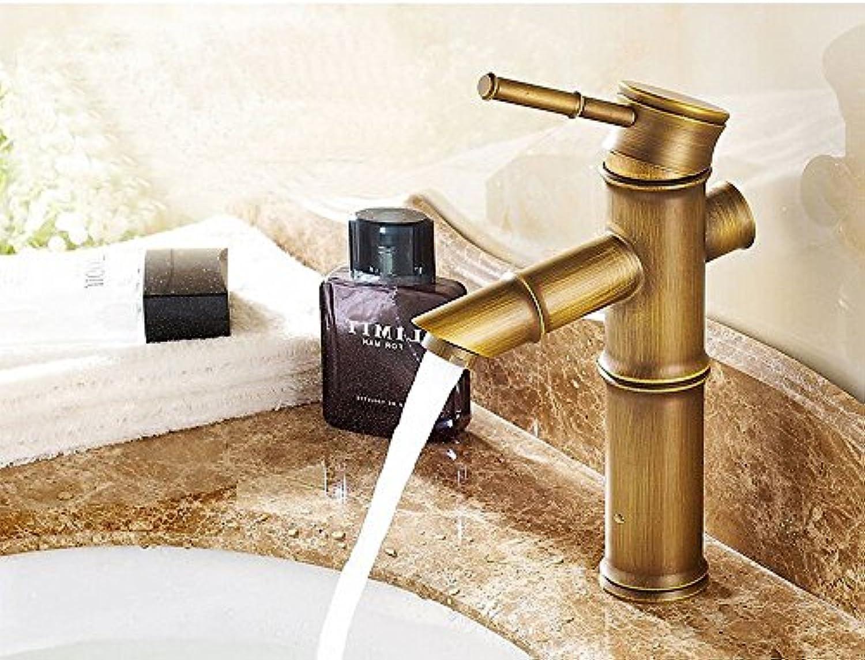 ETERNAL QUALITY Badezimmer Waschbecken Wasserhahn Messing Hahn Waschraum Mischer Mischbatterie Tippen Sie auf die Wasserhhne Wasserbecken auf dem warmen Metall Hhne EIN