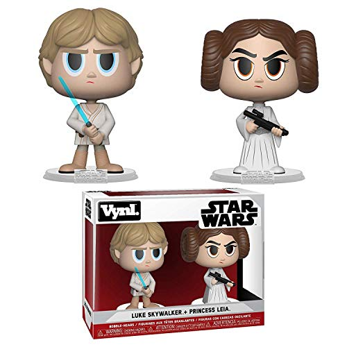 Vynl: Star Wars: Una nueva esperanza: Princesa Leia & Luke Skywalker