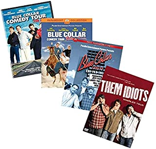 Ultimate Blue Collar Comedy Tour DVD Collection: The Original Movie / Rides Again / One For the Road / Them Idiots (Jeff Foxworthy, Larry the Cable Guy, Bill Engvall, Ron White)