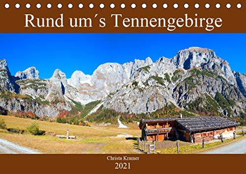 Rund um´s Tennengebirge (Tischkalender 2021 DIN A5 quer)