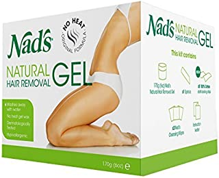 Nad's Natural Hair Removal Gel 170g by NAD'S