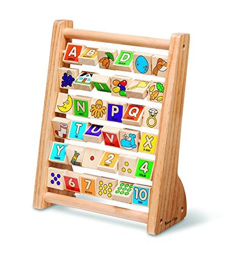 Melissa & Doug ABC-123 Abacus, 1 EA