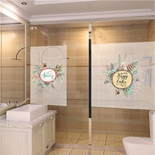 GLLCYL Printemps Fenêtre Décoration Stickers Muraux Store Fenêtre Jardin Abeille Réfrigérateur Décor Sticker Arts Affiche
