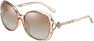 Women Polarized Sunglasses UV Protection Ladies Eyewear Diamond Decoration WS071