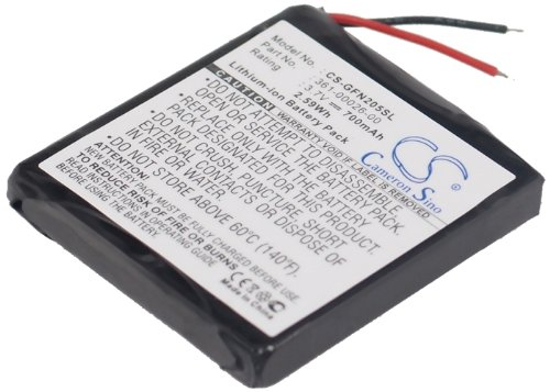 Batterie Akku 700mAh / 2.59Wh für Garmin forerunner 205forerunner 305,Garmin 361-00026-00