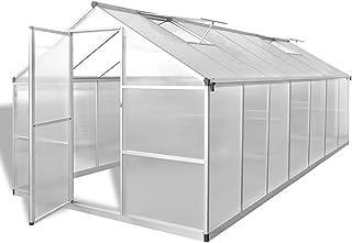 comprar comparacion Festnight Invernadero Estructura de Aluminio