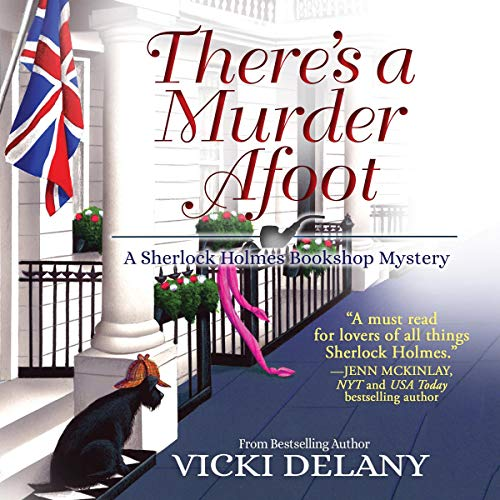 There's a Murder Afoot audiobook cover art