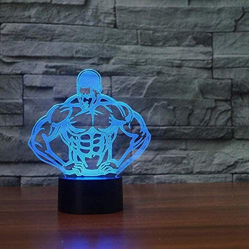 Baby Spielzeug 3D Phantom Light Day of Time 3D Ilusión Night Light Touch Phantom Light Night Light