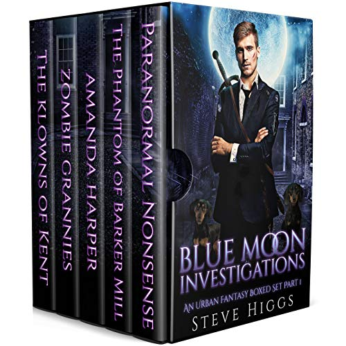 Blue Moon Investigations: A Humorous Fantasy Adventure Series Boxed Set Part 1 (Blue Moon Box sets)