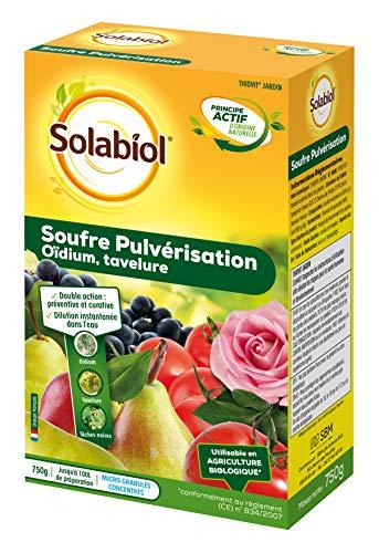 Solabiol SOPUL750 Gebläse 750 g bis 100 l Lösung, doppelte Wirkung: präventiv und heilend.