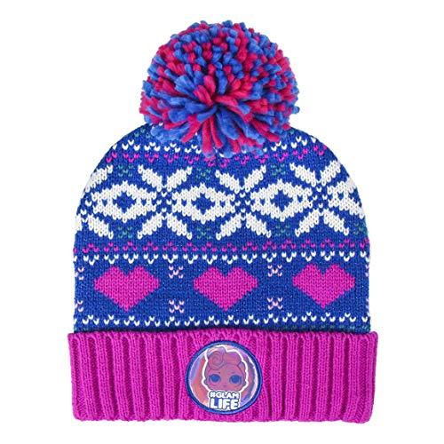 Cerdá L.O.L. Surprise! Mütze für Mädchen, Kinder Warme Wintermütze, Gemütliche Strickmütze, Holographisches Design, Geschenke für Mädchen!