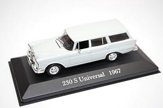 Mercedes-Benz 230S Universal W110 Grey 1967 Year - Executive car (E) - 1/43 Scale Collectible Model Vehicle - Offizielle Modell-Sammlung #12