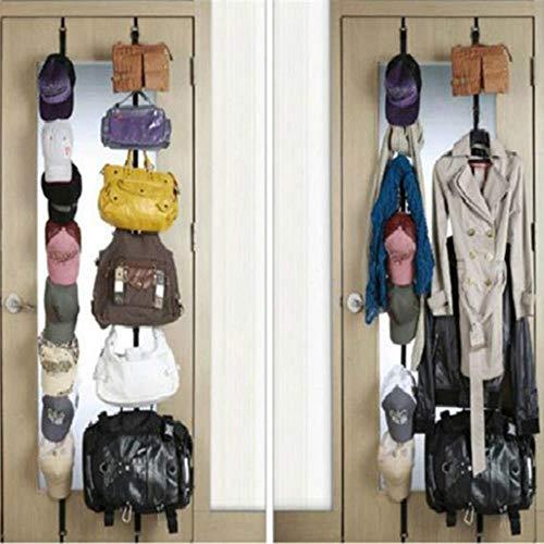 Over deur riemen Hanger Haken Verstelbare Hoed Tas Organizer Handtassen/Handtassen/sjaals/Hoeden in Hangende Pakket met 8 Haak France Groen