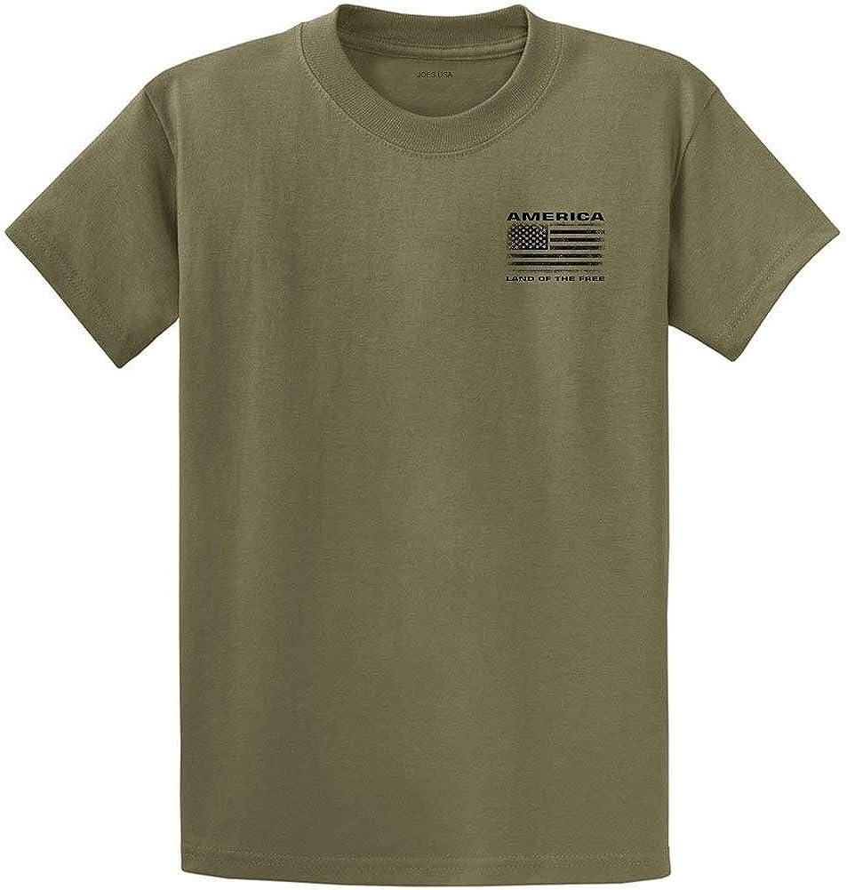 Joe's USA Vintage America Land of The Free Flag T-Shirts,Tanks and Hoodies