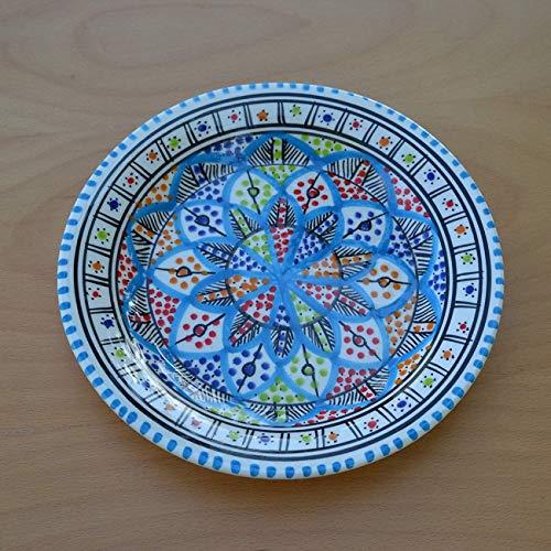 Set mit 6 flachen Tellern Bakir Royal, Durchmesser 24cm