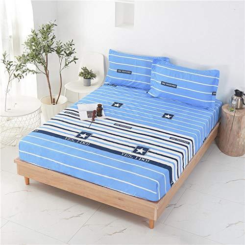 HPPSLT Sábana Ajustable súper Suave, cálida y acogedora Engrosamiento a Prueba de Polvo de la sábana -11_90 * 200 + 25cm