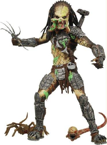 Alien VS. Predator: Requiem NECA Action Figure Series 4 Battle Damaged Unmasked Predator by Alien/Predator