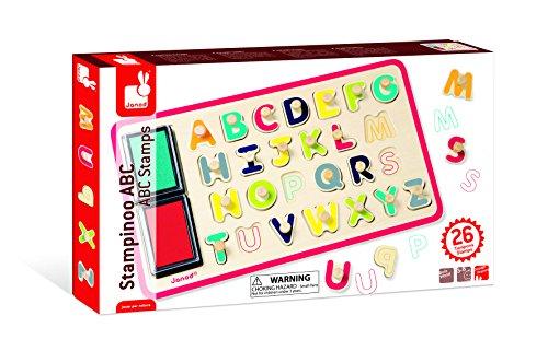 Janod - 4508161 - Encastrement puzzle - ABC - 26 pièces