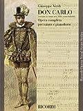Don Carlo: Opera In Cinque Atti (Ricordi Opera Vocal Score)