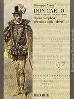 Don Carlos: 5 Acts (Ricordi Opera Vocal Score)