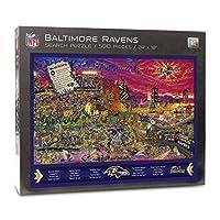 NFL Baltimore Ravens Joe Journeyman Puzzle - 500-piece