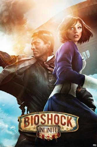 Bioshock Infinite - Booker & Elizabeth Poster