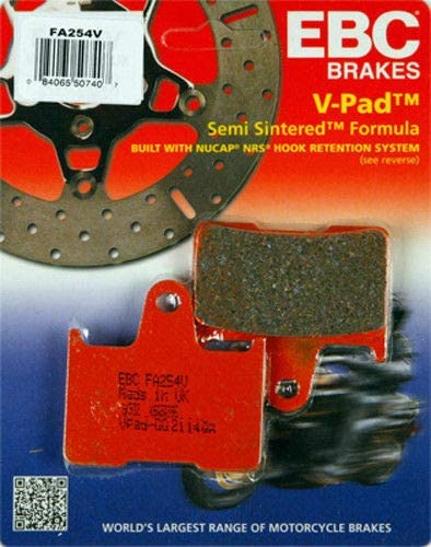 RPM Department store Shipping included EBC Semi-Sintered Brake Pads Pair Compatible FA254V - 1