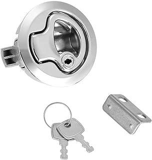 JUN-STORE CMM-Y Stainless Steel Boat RV Cam Latch Cabinet Door Lock Locker 23090-CH