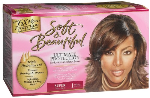 No-lye Conditioning Relaxer Super
