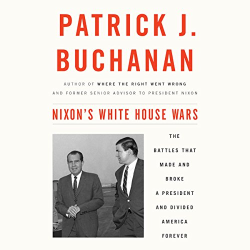 Nixon's White House Wars audiobook cover art