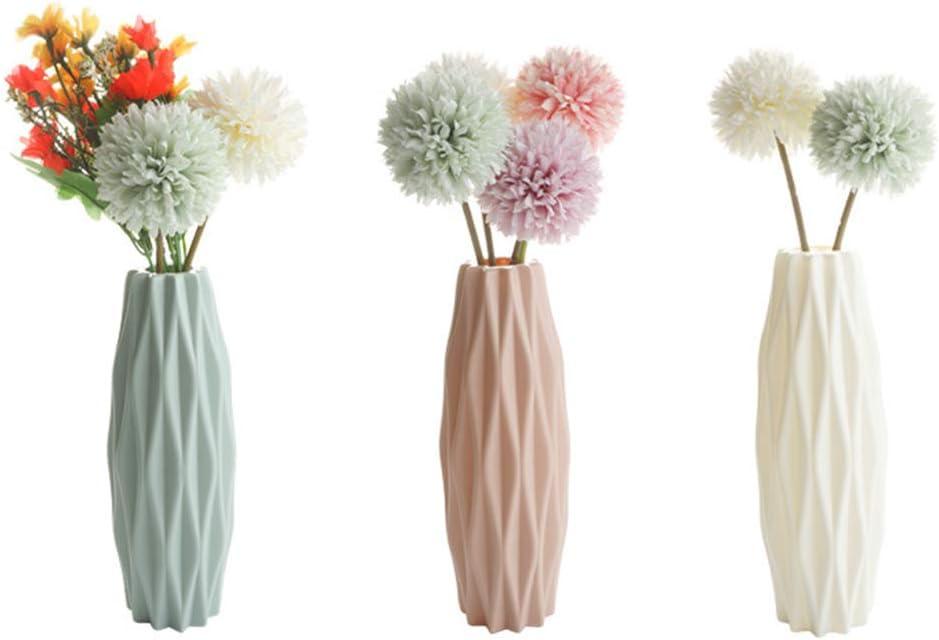 Hetangyuese Vase en c/éramique imitation vase pour d/écoration de maison nordique