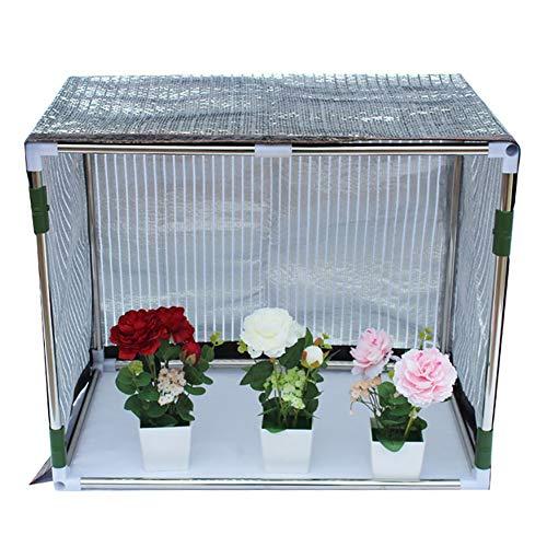 XL&JUN Aluminet Garden Shade Netting, Shade Rate 75% Waterproof Sturdy Sunblock Mesh, for Garden Greenhouse Pergola, 140g/㎡ Sun Protection, Heat Insulation, Sun Protection, (Size : 3M×4M)