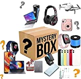 Mystery Box Electronic, 2021 New Random Surprise Package Electronics EquippedInteresting and Exciting Lucky Box, Super Many Styles Explosion Box Random Send Yourself A Surprise