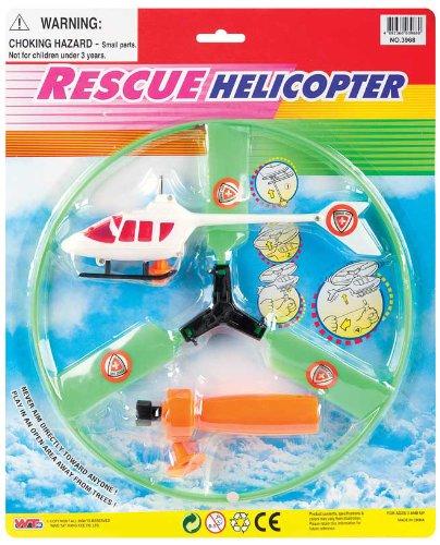 WDK PARTNER - A1301012 - Véhicules miniatures - Hélicoptère avec lanceur - Coloris aléatoire