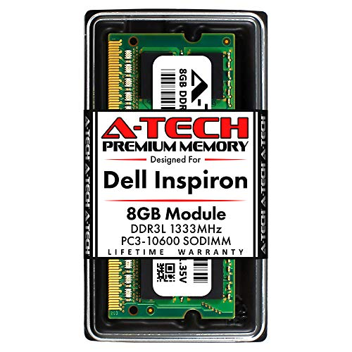 A-Tech 8GB RAM Compatible for Dell Inspiron 3646 Laptop & Notebook DDR3/DDR3L PC3-12800 1600Mhz Memory RAM Module (ATMS277681B12351X1)