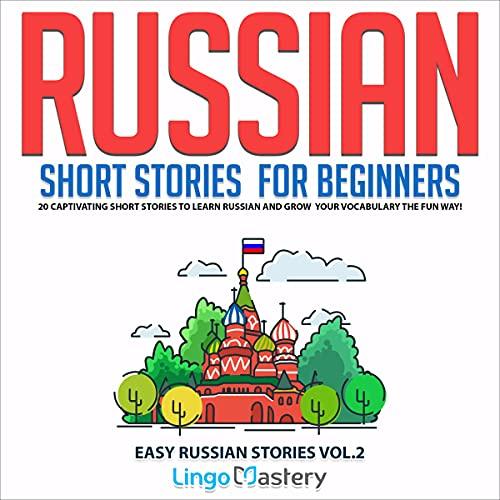 『Russian Short Stories for Beginners Volume 2』のカバーアート