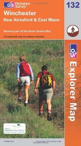 OS Explorer map 132 : Winchester