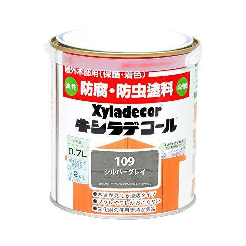 大阪ガスケミカル株式会社 キシラデコール シルバグレイ 0.7L