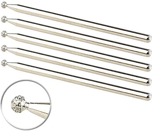AGT Zubehör zu Gravierstifte: Diamantspitzen für den AGT-Gravurstift, 5er-Set (Gravur Set)
