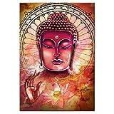 ZMK-720 Pintura al óleo Pinturas de la Pared del Arte de Buda Lona del Arte Abstracto Budista en la Pared y Poster Prints Budismo Cuadros de la Pared Decoración for el Hogar