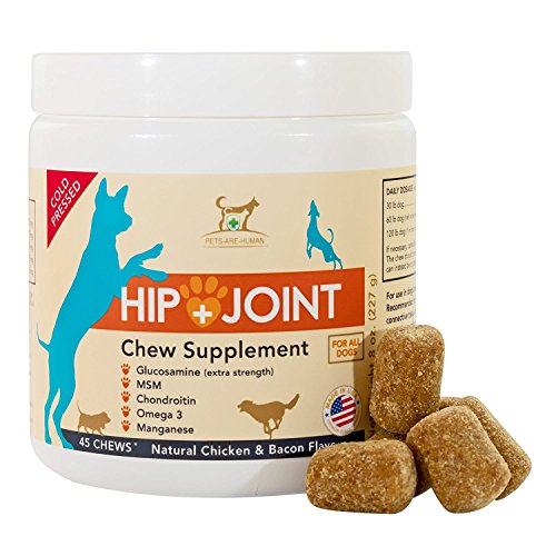 Top 10 best selling list for pah hip and joint pain relief supplement for dogs