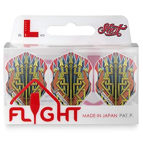 Shot! Darts L-Style EZ L3 Form Römische Empire Legion Dart Flights